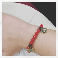 Another jewel post, my super good luck bracelet. Feeling lucky! #Om #maemaejewelry