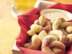 Ham twisted pretzels with beer dip, I want to make for super bowl!