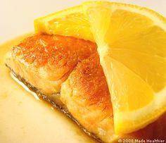 Citrus Salmon Fillets