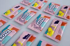 Colorful Brand Identity for Japanese Sushi Restaurant
