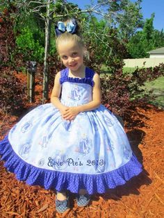 Anabell's Princess Dress by Fairytale Patterns - via @Craftsy Options for Shirred back or Elastic (more pics on craftsy)