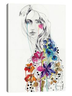 Lost by Holly Sharpe (Canvas) from Fashion-Forward Home on Gilt