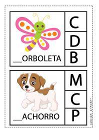 Educação infantil facil: JOGO DA LETRA INICIAL First Grade, Professor, Homeschool, Crafts For Kids, Education, Preschool Literacy Activities, Kids Learning Activities, Alphabet Games, School Supplies