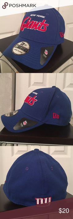 NY Giants Cap New Era Cap, new with tags. New Era Accessories Hats