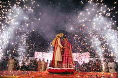 Tanvi and Aman – An Amazing Raipur Wedding which was Super Cute and oh-so Fun, a Superb Small Town Wedding that's WOW for Everyone! Wedding Backdrop Design, Desi Wedding Decor, Wedding Stage Decorations, Wedding Set Up, Wedding Poses, Wedding Couples, Backdrop Decorations, Wedding Ideas, Bride Entry