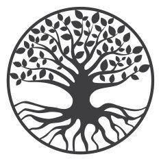 Tree of Life Yggdrasil World Tree vector art illustration