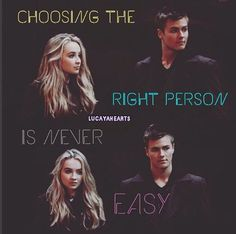 """I LITERALLY JUST HAD AN EPIPHANY Riley and Lucas are easy! Right? I mean that's what everyone expects that's what the stereotypes demand,and """"no one gets gets hurt"""" bc maya knows she can convince herself that she really doesn't like him it was all fake and Riley is the one who liked him all along it was the Riley in her that liked him all along. BUT IT WASN'T it's so obvious bt everyone wants to deny it THEY CONNECT AT SOUL LEVEL u can see it she IS the right choice"""