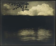 The Big White Cloud, Lake George,  Edward J. Steichen, 1903 (printed 1904). The Metropolitan Museum of Art, 33.43.47. Alfred Stieglitz Collection, 1933