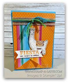 Birthday Llama | Stamp A Latte - Stampin Up! with Leonie Schroder | Bloglovin'
