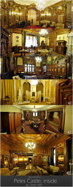 Peles Castle, inside. Beautiful Castles, Beautiful Places, Exterior Design, Interior And Exterior, Peles Castle, European Decor, Palace Interior, Places Worth Visiting, Medieval Life