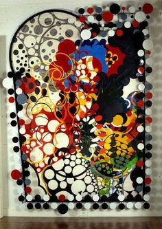 """Judy Pfaff """"Untitled 1988"""" sculpture"""