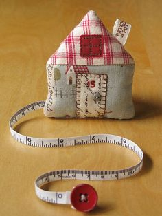 House Tape Measure 59 by PatchworkPottery, via Flickr