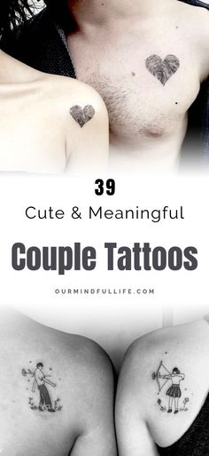 relationship tattoos Getting matching tattoos is a big commitment. - relationship tattoos Getting matching tattoos is a big commitment. If you have found the keeper, th - Couple Tattoos Unique Meaningful, Romantic Couples Tattoos, Finger Tattoos For Couples, Couples Tattoo Designs, Infinity Tattoos For Couples, Meaningful Symbol Tattoos, Couple Tattoo Quotes, Couple Tattoos Love, Love Tattoos