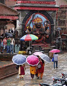 UNESCO World Heritage Site ~ Kathmandu Durbar Square, Kathmandu, Nepal.