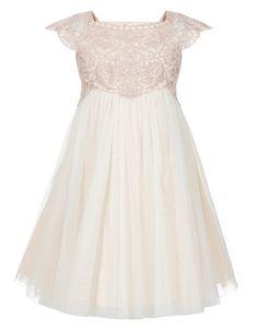 Sienna's Flower girl dress but in Ivory, eeeeeeekkkk so cute!!!! Baby Estella Sparkle Dress