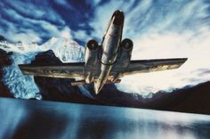 Tartography by Shawna Mac Based on a CC image by Oxyman. The plane is on display at the Imperial War Museum in Duxfod, England. Avro Canada Canuck by Shawna Mac Cc Images, Canadian History, Planes, Air Force, Fighter Jets, Aviation, The 100, Aircraft, Mac