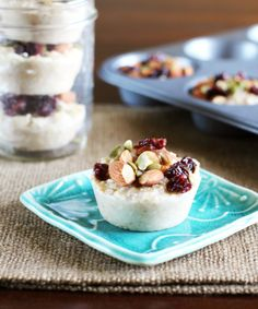 Frozen Single-Serve Oatmeal with Almonds & Dried Cherries Recipes