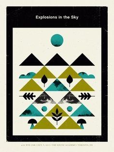 FFFFOUND! | Doublenaut | Shop: Posters: Explosions in the Sky