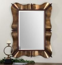 Uttermost 12879 - Bowery Curved Metal Mirror