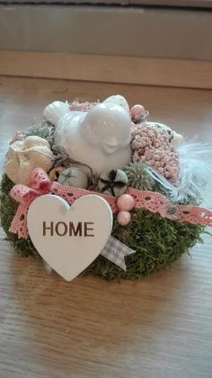Holiday Ornaments, Holiday Decor, All Holidays, Floral Arrangements, Diy And Crafts, Centerpieces, Valentines, Spring, Florals