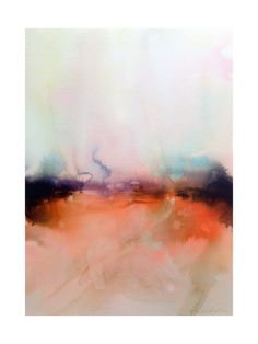 Abstract Lands Series : Fields 4 Art Print - Limited Edition by V E R Y M A R T A | Minted