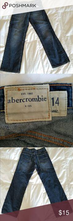 Abercrombie boys jeans Abercrombie Boys size 14. Great condition. abercrombie kids Jeans