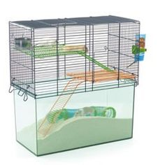 Savic Habitat Hamster Cage On Sale Free Uk Delivery Large Hamster Cages Small Pets Pet Home