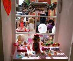 Hochzeitsgäste in unserem Laden #wedding #Hochzeit #Heidelberg #Dekoration #Bonbon #candyshop