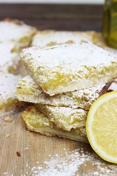 Homemade Lemon Coconut Bars
