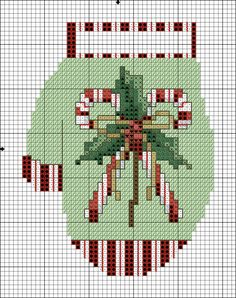 Cross Stitch Tree, Beaded Cross Stitch, Crochet Cross, Cross Stitch Charts, Cross Stitch Designs, Cross Stitch Embroidery, Cross Stitch Patterns, Loom Patterns, Crochet Granny