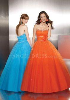 Sweetheart Tulle Ball Gown Empire Sleeveless Floor Length Evening Dress