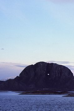 Old hat 2/3 • Torghatten, Norwegian Hole-in-the-Rock • landscape | panorama | panoramic | large format | print | original | photography | image | interior design ideas | wall decor