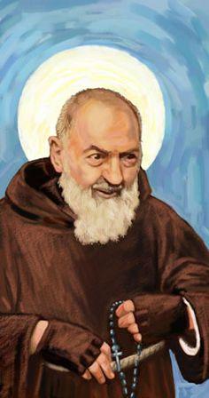 St Pio of Pietrelcina Miracles   St. Pio of Pietrelcina (Padre Pio) In Memoriam Card from Celtic Cards