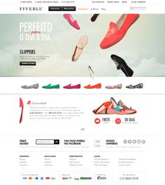 FiveBlu | Landing Pages by Lavi , via Behance