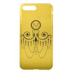 Swing Chandelier CHANGE COLOR Monogram - iPhone 8 Plus/7 Plus Case - kids birthday gift idea anniversary jubilee presents