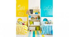 Design Shared Kids Room Ideas – Creative Shared Bedroom Ideas for a Modern Kids Room Freshome, with 94 Related Designs Boy And Girl Shared Room, Boy Girl Room, Sibling Room, Headboard Designs, Headboard Ideas, Shared Bedrooms, Girls Bedroom, Bedroom Ideas, Bedroom Hacks