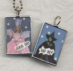 Use old Manga or magazine pics for teen craft - Could be made into pendants or keyrings.