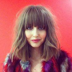 Bilder från Pinterest Lugg + page/mellanlängd är verkligen snyggt, styla gärna håret lite busigt för att lätta upp formen.