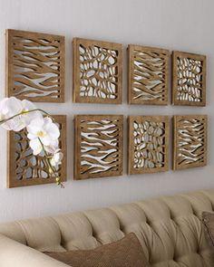 Zebra Patterned Panel traditional artwork