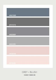 grey and pink color combo, blush and grey color scheme, blush and grey color palette Blush Pink And Grey Bedroom, Pink Green Bedrooms, Green Bedroom Colors, Grey Colour Scheme Bedroom, Sage Green Bedroom, Blush Pink Bedroom, Grey Bedroom Decor, Pink Bedroom For Girls, Blush And Grey