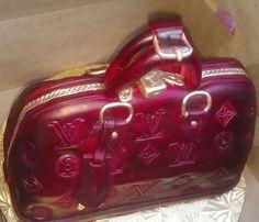 fashion purse handbag cakes | Found on artistic-confections.com