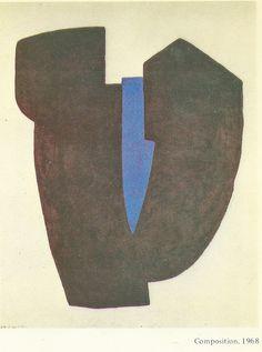 Poliakoff, by Gerard Durozoi-Edit.1984-Composition 1968
