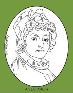 abigail adams coloring pages - photo#18