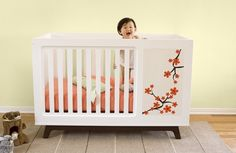Then when you have your next child, simply convert the furniture to its original form and, voila, you're ready to go. No need for new furniture.