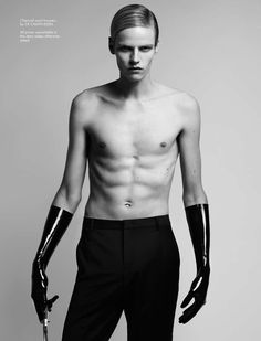 fallen magazine spring 2012 - The Fallen Magazine Spring 2012 Luana Teifke photoshoot builds upon the fashion worlds obsession with androgyny. This production takes the obsessio...