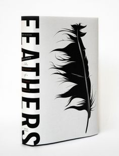Feathers book jacket design