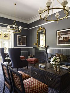 Australian award-winning studio Greg Natale Design has recently led a complete interior makeover of this five bedroom bluestone homestead built in 1880 in the centre of a renowned Australian racing horse stud.