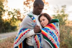 Laurenda Marie Photography | Couples | Engaged | Fall | Fall color | Lifestyle photography | couples pose | blanket | golden hour | sunflare