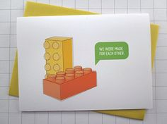 http://www.etsy.com/listing/105365806/we-were-made-for-each-other-lego-card