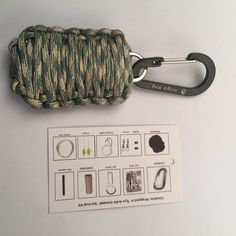9 feet Waterproof Paracord. This ultimate emergency kit has everything anyone would need if faced with a sudden emergency. Be prepared 24/7, whether you are hunting, camping, hiking, biking, fishing or just facing Mother Nature's wrath. | eBay!